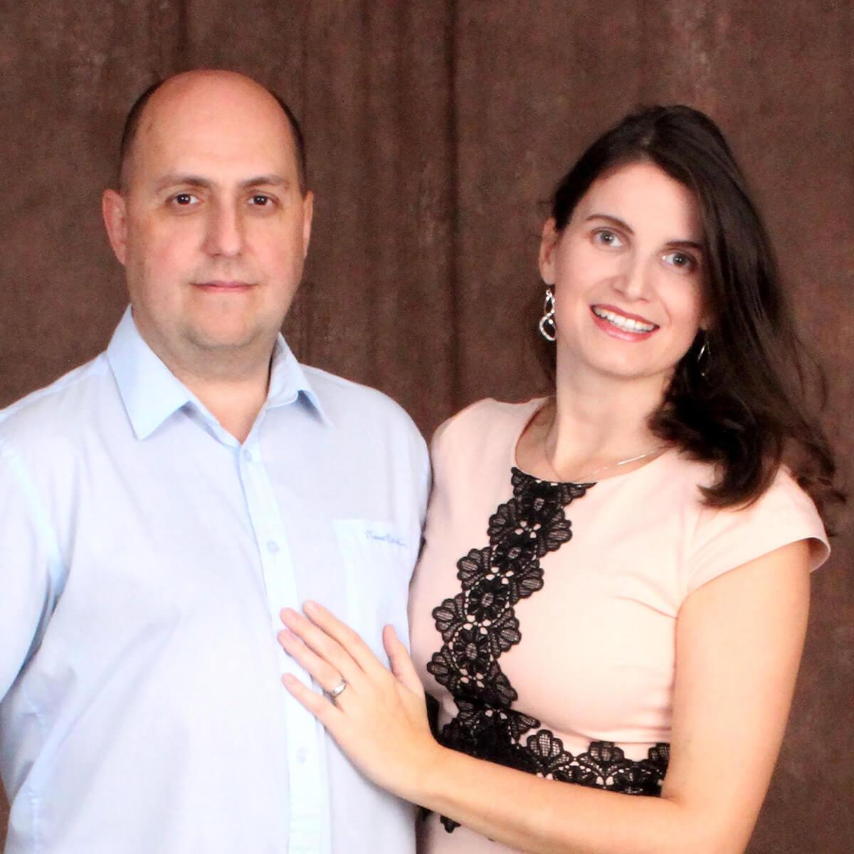 Naši pastoři: Bohdan a Patricie Stonawšťí